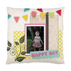 Kids Of Love Family By Jo Jo   Standard Cushion Case (two Sides)   Oa9m0e5sxbn9   Www Artscow Com Back