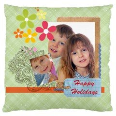 Kids Of Love By Jo Jo   Large Cushion Case (two Sides)   K5wlhkrz3b62   Www Artscow Com Back