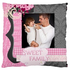 Kids Of Love By Jo Jo   Large Cushion Case (two Sides)   7rhwq6mgarfh   Www Artscow Com Back
