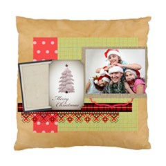 Merry Christmas By Jo Jo   Standard Cushion Case (two Sides)   Rwoa50pgc4he   Www Artscow Com Front