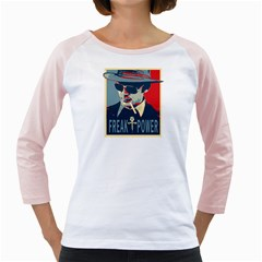 Hst White Long Sleeve Raglan Womens  T Shirt by NatashaC