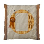 Number 1 Dad Cushion Case (1 Sided) - Standard Cushion Case (One Side)