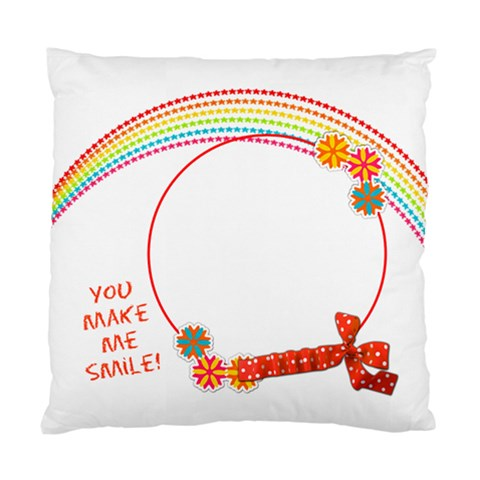 Rainbow Cushion1 By Shelly   Standard Cushion Case (one Side)   Cod4tiz2b37l   Www Artscow Com Front