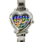 Heart Italian Charm Watch