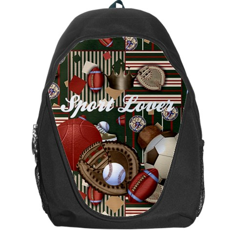 Sport Lover By Cari    Backpack Bag   1wmm80j016dp   Www Artscow Com Front