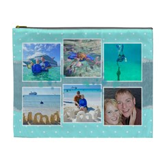 Ocean Vacation Xl Cosmetic Bag By Digitalkeepsakes   Cosmetic Bag (xl)   S2cl896o06v4   Www Artscow Com Front