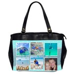 Ocean Vacation Office Handbag - Oversize Office Handbag (2 Sides)