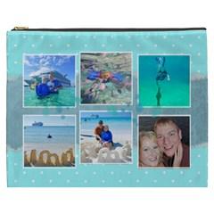 Ocean Vacation Cosmetic Bag Xxxl By Digitalkeepsakes   Cosmetic Bag (xxxl)   6toc6fyubmbh   Www Artscow Com Front