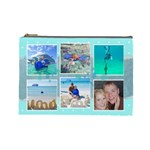 Ocean Vacation Cosmetic Bag Large - Cosmetic Bag (Large)