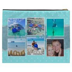 Ocean Vacation Cosmetic Bag Xxxl By Digitalkeepsakes   Cosmetic Bag (xxxl)   7q27wf8mwncc   Www Artscow Com Back