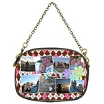 Argyle Flower Chain Purse - Chain Purse (One Side)