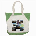 Flower Accent tote - Accent Tote Bag