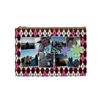 Argyle Flower Cosmetic Bag Medium - Cosmetic Bag (Medium)