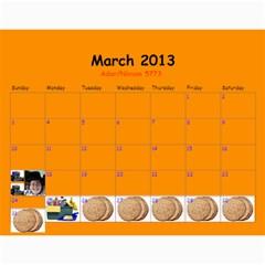 Calendar For Mommy Lax By Frumy   Wall Calendar 11  X 8 5  (12 Months)   Z1t2ee0qid6m   Www Artscow Com Mar 2013