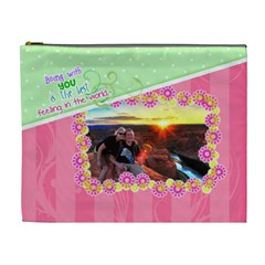 Being With You Xl Cosmetic By Digitalkeepsakes   Cosmetic Bag (xl)   18b35skvfymq   Www Artscow Com Front