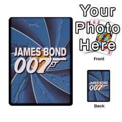 James Bond Dream Cards By Geni Palladin   Multi Purpose Cards (rectangle)   Ns899tax35v6   Www Artscow Com Back 52