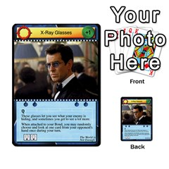 James Bond Dream Cards By Geni Palladin   Multi Purpose Cards (rectangle)   Ns899tax35v6   Www Artscow Com Front 53