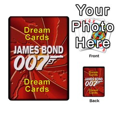 James Bond Dream Cards By Geni Palladin   Multi Purpose Cards (rectangle)   Ns899tax35v6   Www Artscow Com Back 54