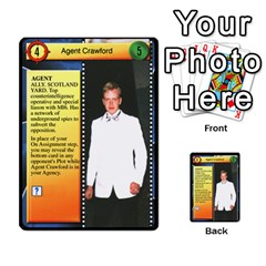 James Bond Dream Cards By Geni Palladin   Multi Purpose Cards (rectangle)   Ns899tax35v6   Www Artscow Com Front 20