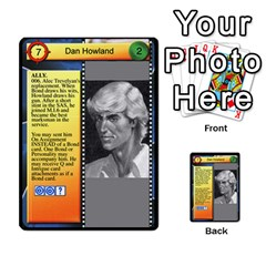 James Bond Dream Cards By Geni Palladin   Multi Purpose Cards (rectangle)   Ns899tax35v6   Www Artscow Com Front 27