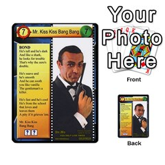 James Bond Dream Cards By Geni Palladin   Multi Purpose Cards (rectangle)   Ns899tax35v6   Www Artscow Com Front 33