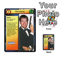 James Bond Dream Cards By Geni Palladin   Multi Purpose Cards (rectangle)   Ns899tax35v6   Www Artscow Com Front 45