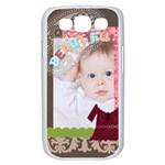 kids of dress - Samsung Galaxy S III Case (White)