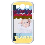playing kid - Samsung Galaxy S III Case (White)