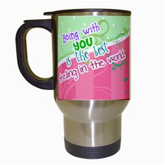 Being With You   Travel Mug By Digitalkeepsakes   Travel Mug (white)   Brlx0xl0kib4   Www Artscow Com Left