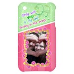 Being with you- Iphone 4/4s case - Apple iPhone 3G/3GS Hardshell Case