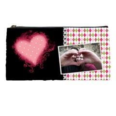 Love   Pencil Case By Digitalkeepsakes   Pencil Case   Whh7t826ssb2   Www Artscow Com Front