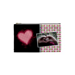 Love   Cosmetic Bag Small By Digitalkeepsakes   Cosmetic Bag (small)   0gqjyw94dyla   Www Artscow Com Front