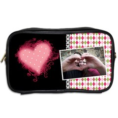 Love   Toiletries Bag 2 Sides By Digitalkeepsakes   Toiletries Bag (two Sides)   Oshi9lcrip0d   Www Artscow Com Back