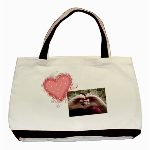 Love   Classic Tote Bag By Digitalkeepsakes   Basic Tote Bag   Xq1mc0p6g5vc   Www Artscow Com Front