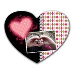 Love - Mousepad - Heart Mousepad