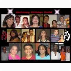 Dineshcalendar 2013 14 12mths By Pradipkothari   Wall Calendar 11  X 8 5  (12 Months)   Omi03kuap6b4   Www Artscow Com Month