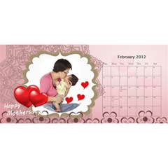 Metok Calendar By Lorraine Chiu   Desktop Calendar 11  X 5    Iz1sdxttqq1c   Www Artscow Com Feb 2012