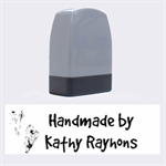 Handmade stamp - Name Stamp