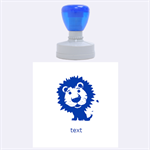 lion - Rubber Stamp Round (Large)