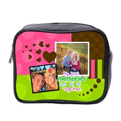 My Best Memories  Mini Toiletries Bag 2 Sides By Digitalkeepsakes   Mini Toiletries Bag (two Sides)   X1jh421t1p71   Www Artscow Com Front