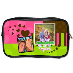 My Best Memories  Toiletries Bag 2 Sides By Digitalkeepsakes   Toiletries Bag (two Sides)   K3wft6wrc0jj   Www Artscow Com Front