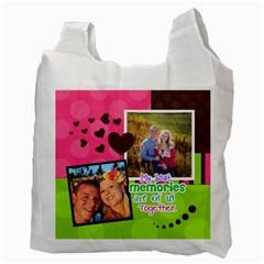 My Best Memories  Recycle Bag 2 Sides By Digitalkeepsakes   Recycle Bag (two Side)   03udrepb9j5h   Www Artscow Com Back