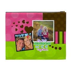 My Best Memories   Xl Cosmetic Bag By Digitalkeepsakes   Cosmetic Bag (xl)   0u38duazrruf   Www Artscow Com Back