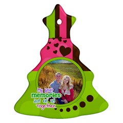 My Best Memories   Ornament By Digitalkeepsakes   Christmas Tree Ornament (two Sides)   83okioxxzh5a   Www Artscow Com Front