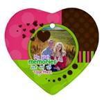 My Best Memories - Ornament - Ornament (Heart)