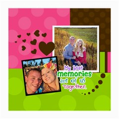 My Best Memories By Digitalkeepsakes   Medium Glasses Cloth (2 Sides)   2ky5o581kgwn   Www Artscow Com Back