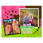 My Best Memories are of us together - Jigsaw Puzzle (Rectangular)