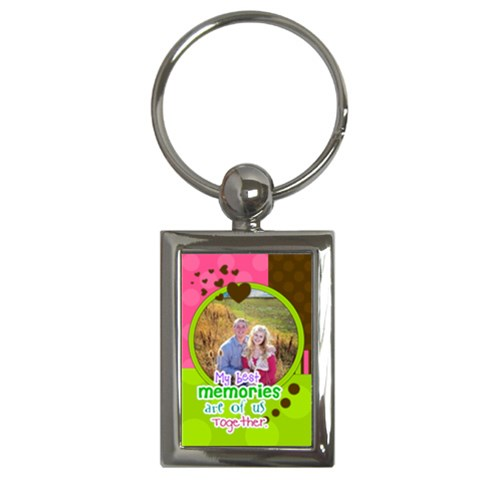 My Best Memories Are Of Us Together By Digitalkeepsakes   Key Chain (rectangle)   Uxeo0lesh75c   Www Artscow Com Front