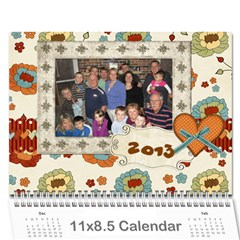 2013 By Kristiania Anderson Knipler   Wall Calendar 11  X 8 5  (12 Months)   Bghi7a66cora   Www Artscow Com Cover