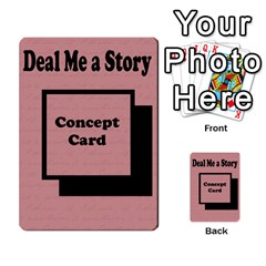 Deal Me A Story Cards By Vickie Boutwell   Multi Purpose Cards (rectangle)   00j15fphwnsv   Www Artscow Com Back 51
